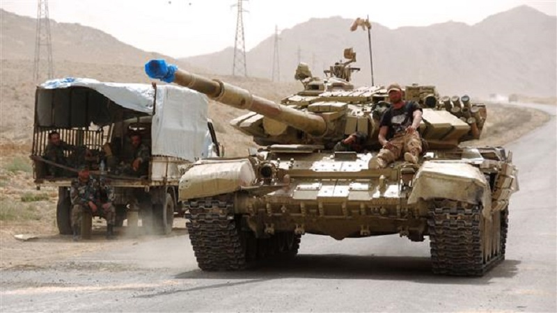 Syrian Government Forces Take Control Of 85 km Of Border With Iraq, Enter Deir Ezzor Province
