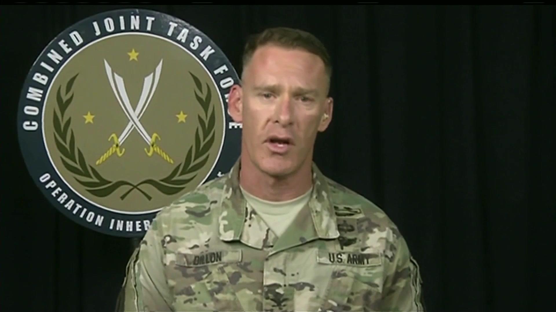 USA vedená koalice nyní přiznává, že závod se syrskou armádou o obsazení hranice s Irákem prohrála