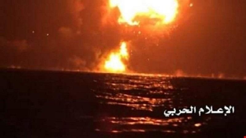 Yemeni Forces Hit Warship Belonging To Saudi-led Coalition Off Coast Of Mocha