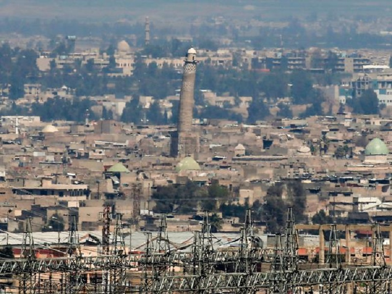 Iraqi Forces Liberated al-Nuri Mosque In Old Mosul Where ISIS Declared 'Caliphate'