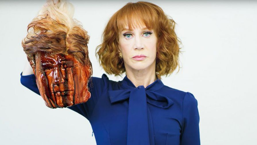 "Kathy Griffin Abandons Accountability, Says Trump ""Personally Ruining [Her] Life"""