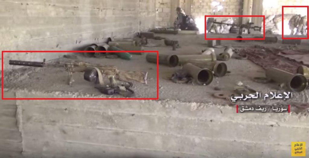 Government Troops Advancing In Ayn Tarma Area In Eastern Damascus
