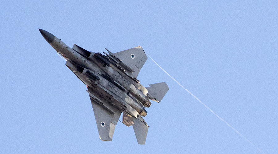 Israeli Air Force Once Again Strikes Syrian Army In Western Syria