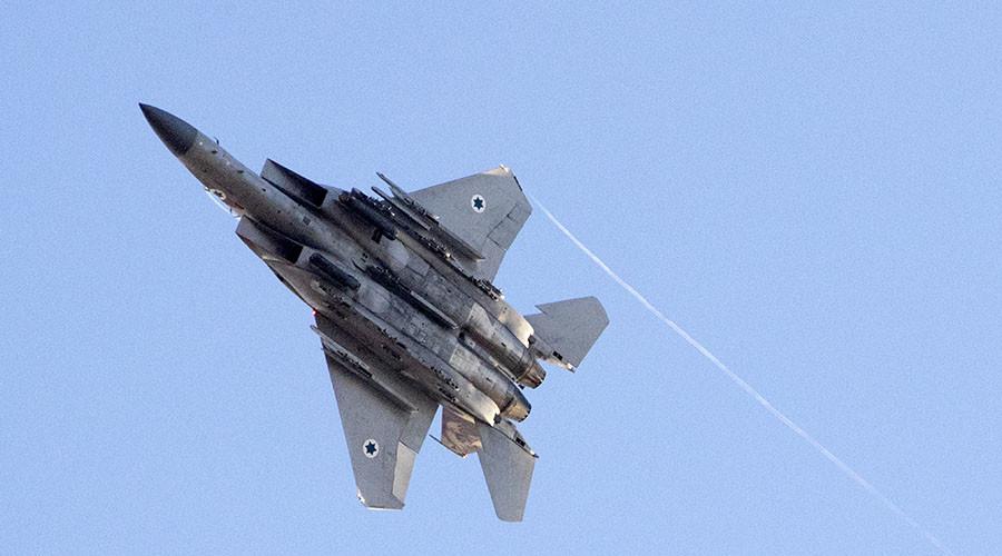 Israeli Air Force Once Again Strikes Syrian Army In Western Syria