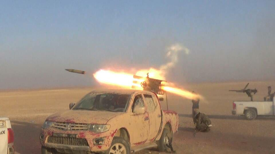 ISIS Losses More Points Near Arak Gas Field And Pumping Station