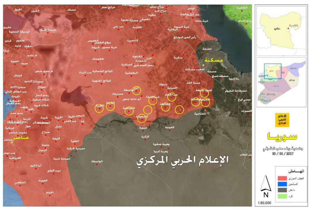 Syrian Army Destroyed 101 ISIS Vehicles, Liberated 22 Villages