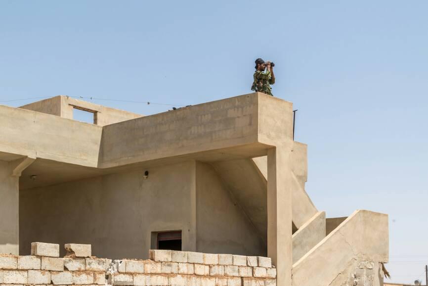 Syrian Democratic Forces Captured Al-Ba'ath Dam Near Raqqah (Videos)