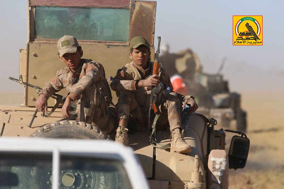Iraqi Popular Mobilization Units Liberated 9 Villages At Border With Syria (Videos)