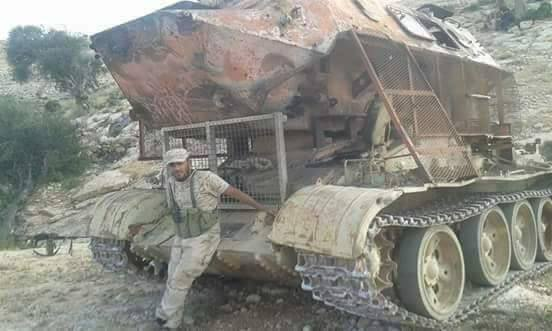 Hybrid Of T-55 And BTR-60 Spotted In Libya (Photos)