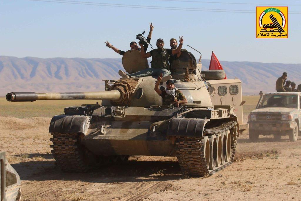ISIS Defense Lines Collapse At Iraqi-Syrian Border. PMU Liberates Large Area