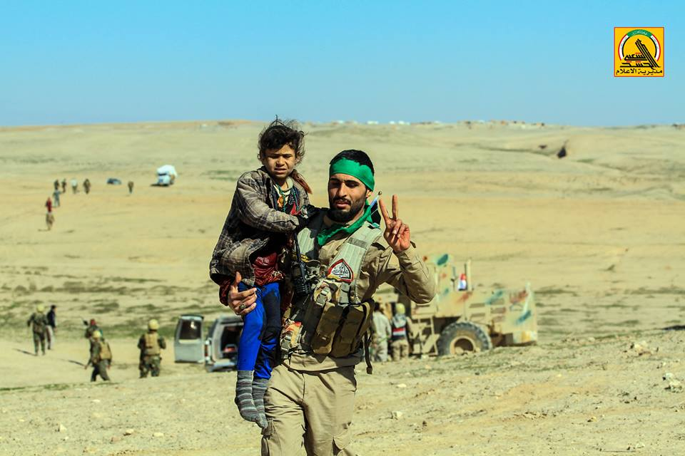 Popular Mobilization Units Advance To Tal Safouk Border Crossing With Syria
