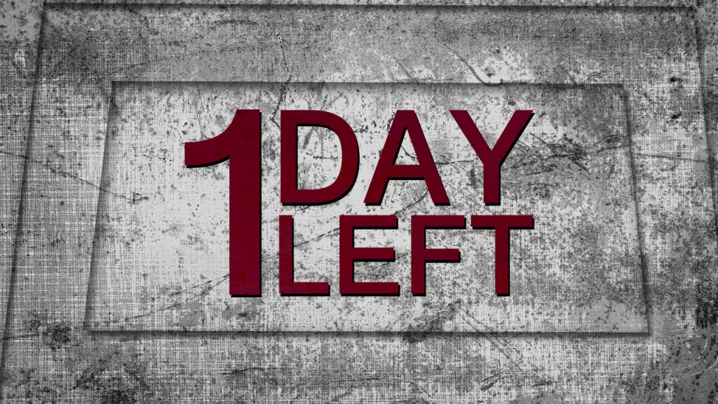 1 Day Left To Alocate SF Budget
