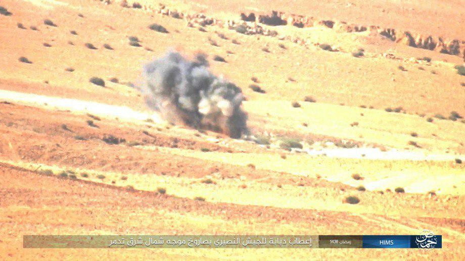 Syrian Army Further Advances East Of Palmyra. 180 ISIS Members Killed (Video, Photos)