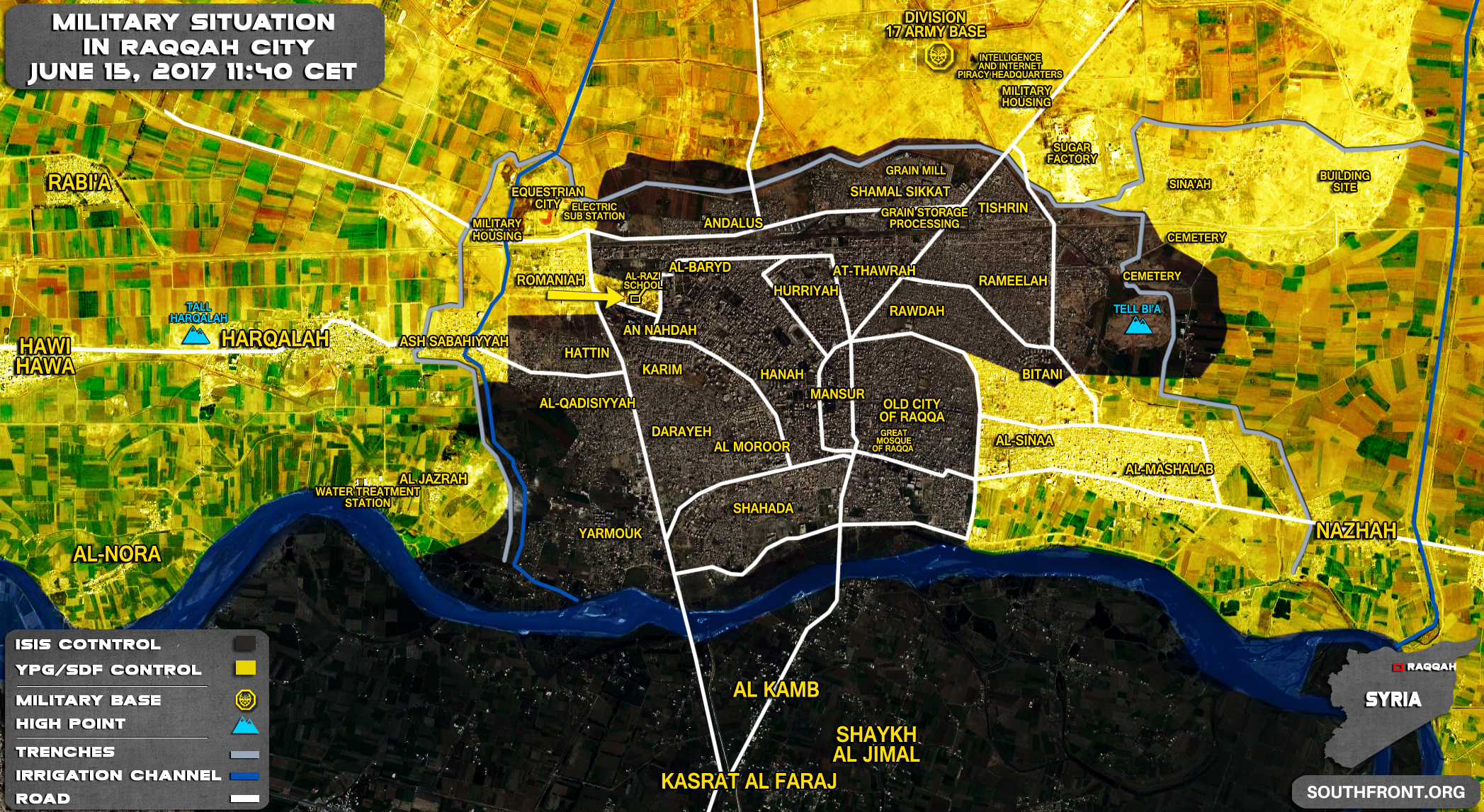 [BIZTPOL] Szíria és Irak - 6. - Page 6 15jun_Raqqah_city_Syria_War_Map