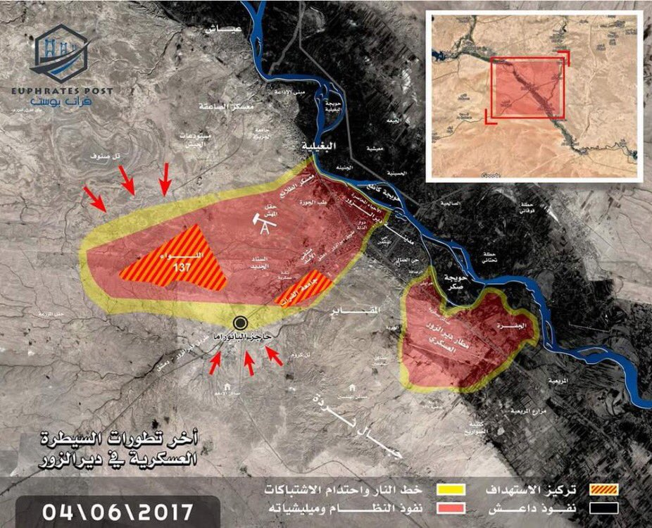 ISIS Intensifies Operations In Deir Ezzor, Takes Panorama Roundabout South Of City