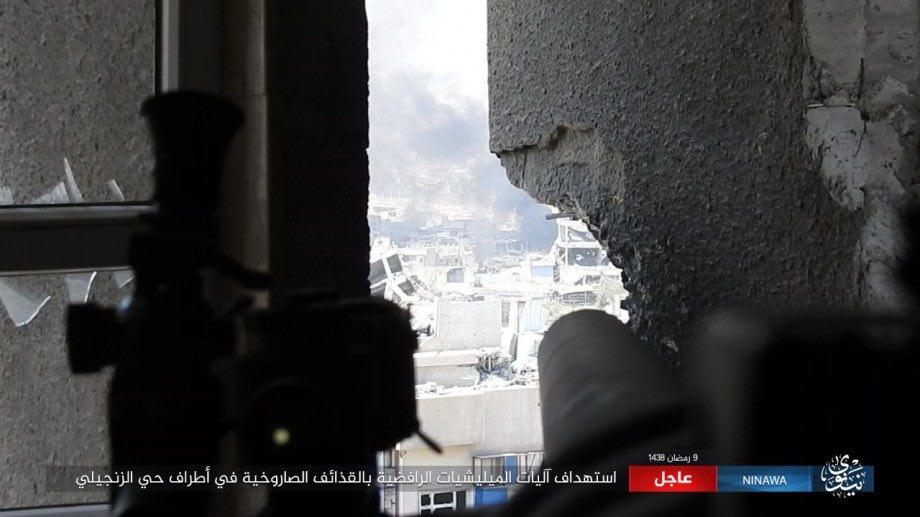 ISIS Counter-Attacks In Mosul. PMU Advances Near Syrian Border (Photos, Map)