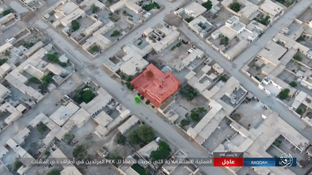 Syrian Democratic Forces Captured Al-Mashlab District In Raqqa City (Videos)