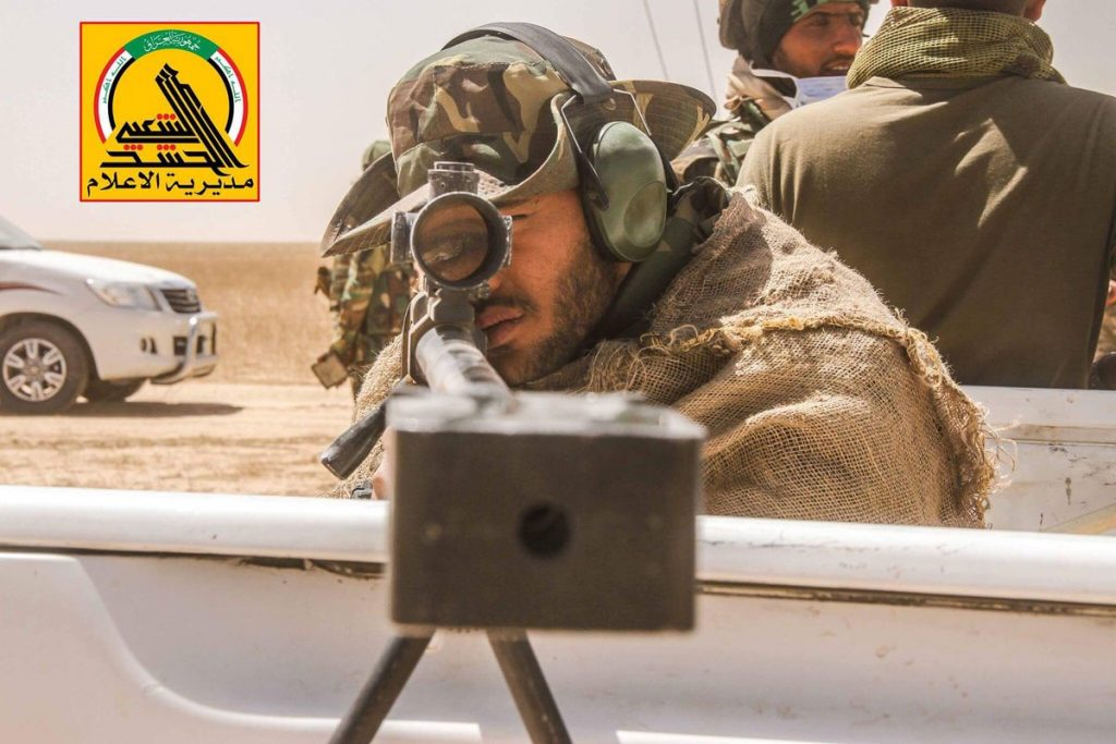 Iraqi Popular Mobilization Units Further Advance Near Border With Syria