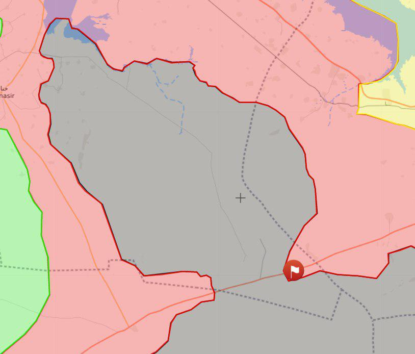 Syrian Army Is About To Capture Inthriyah-Resafa Road