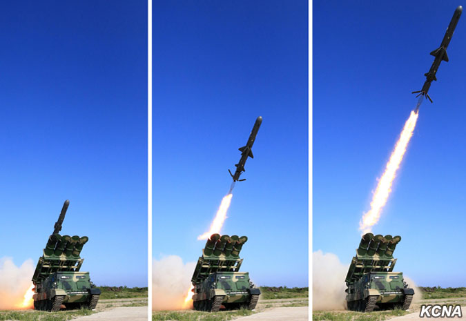 North Korea Tested New Anti-Ship Missile (Photos)