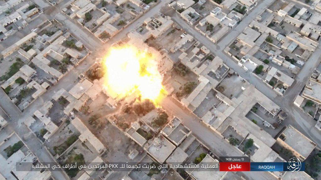 Syrian Democratic Forces Captured Al-Mashlab District In Raqqa City (Videos)