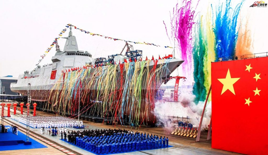China Launches First Type 055 Destroyer: The First Step in Shifting the Naval Balance of Power in the Pacific