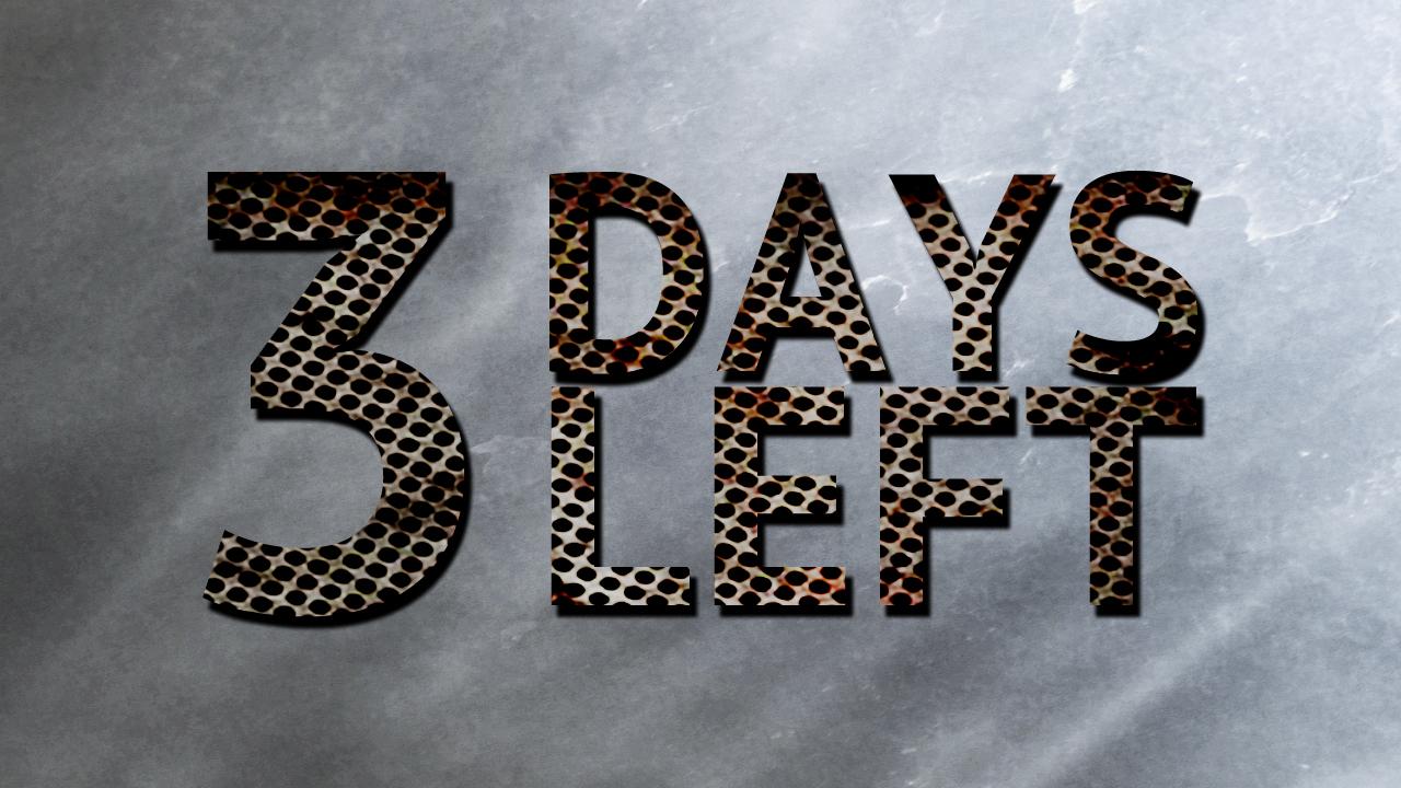 3 Days Left To Alocate SF Budget