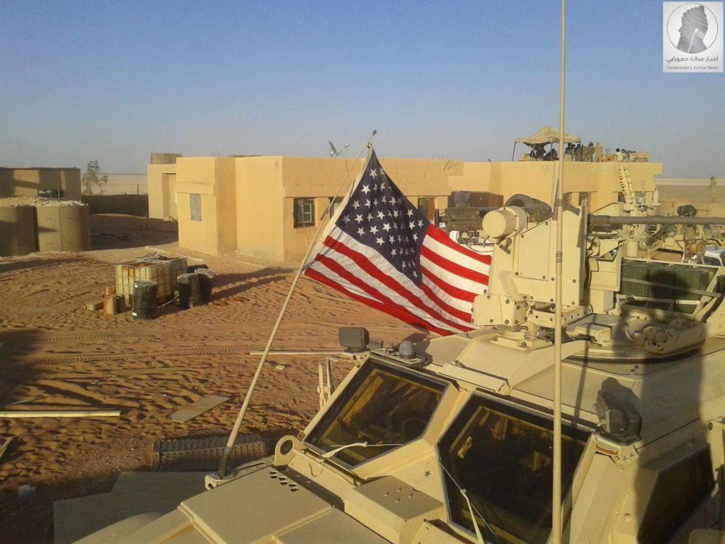 US-led Coalition Set Up New Base At Syrian-Iraqi Border (Photos, Video)