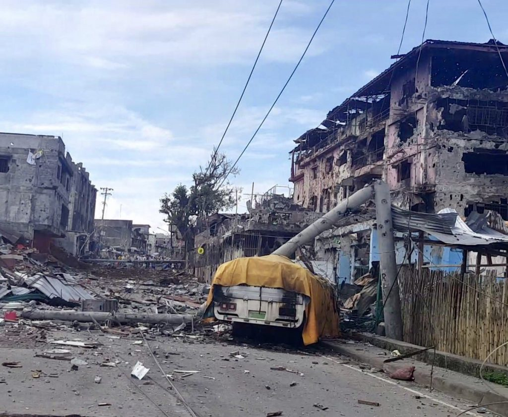 Marawi Siege: City Is Devastated As Security Forces Clash With ISIS (Photos)