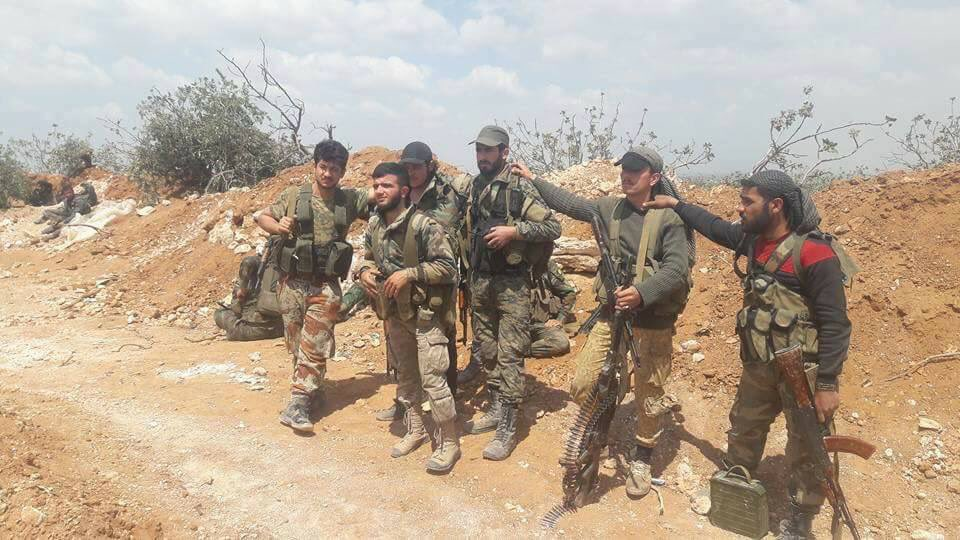Photos: Syrian Army Troops In Raqqah Province