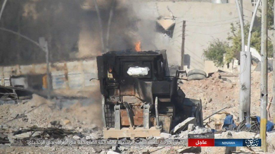 ISIS Counter-Attacks In Mosul. PMU Advances Near Syrian Border (Photos, Map)