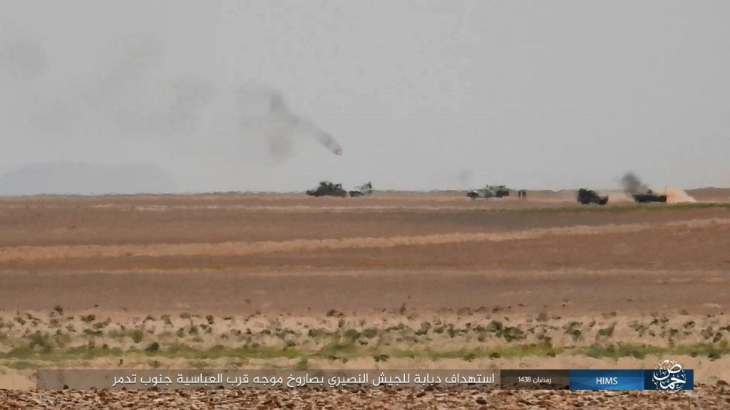 Syrian Army Liberated 1,400 Square Kilometers East Of Palmyra (Videos, Photos)