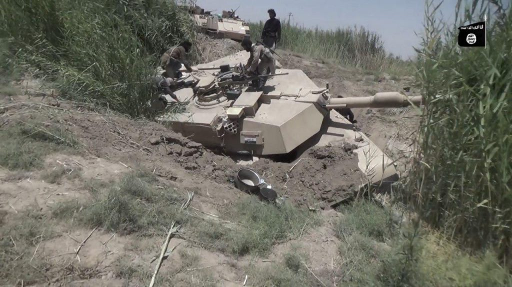 ISIS Means And Measures Against Armoured Vehicles - Photos