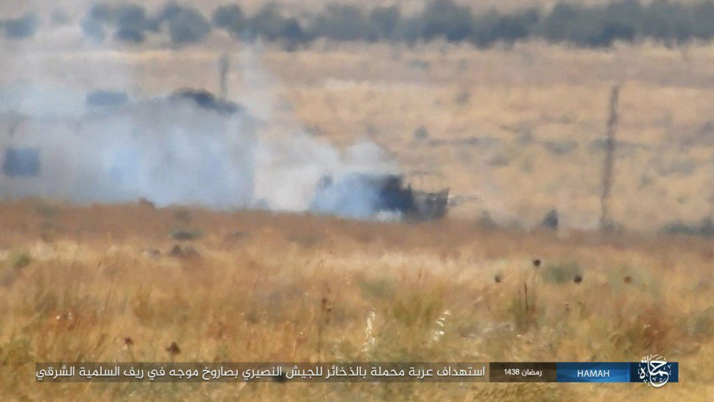 Government Forces Rapidly Advancing Toward Strategic Resafa Town In Raqqah Province