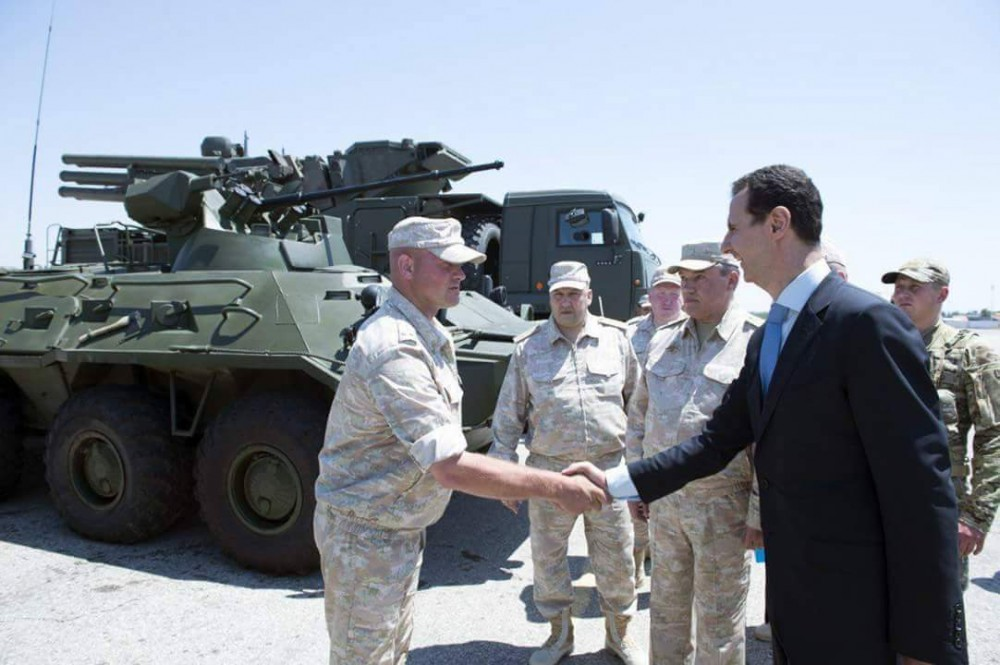President Assad Visited Russian Khmeimim Air Base In Syria (Photo Report, Video)