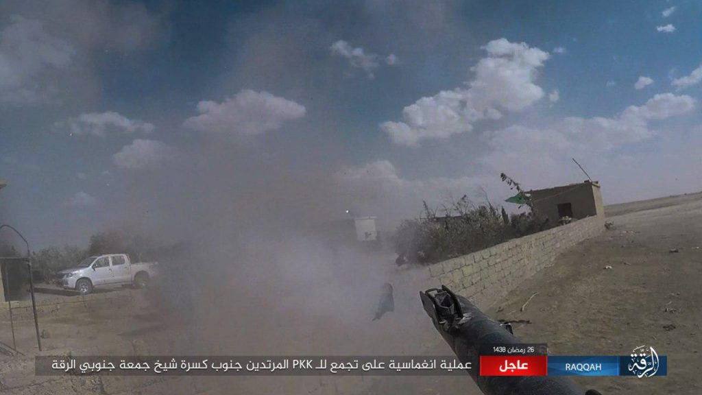 SDF Supported By US-led Coalition Repels Large ISIS Counter-Attacks In Raqqa (Many Photos)