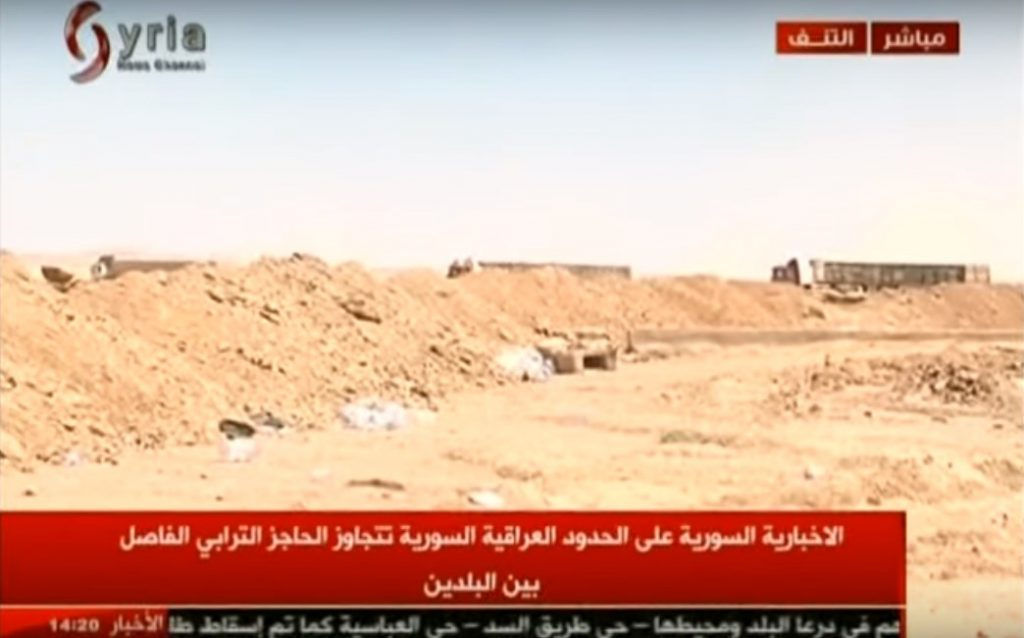 Video: Syrian Troops Deployed At Border With Iraq. First Supply Trucks Pass Border