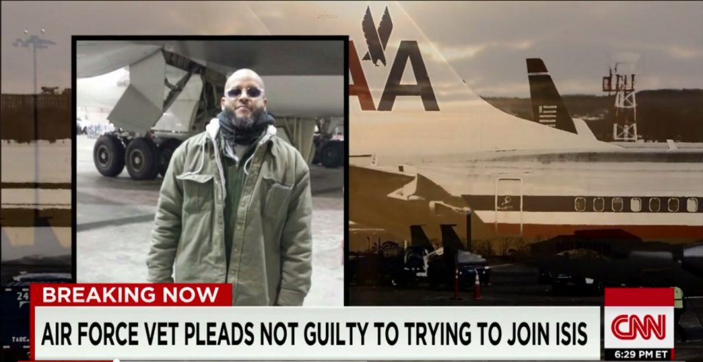 US Air Force Vet Tried To Join ISIS