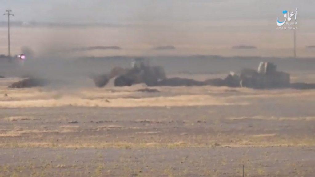 Iraqi Popular Mobilization Units Further Advance Near Border With Syria