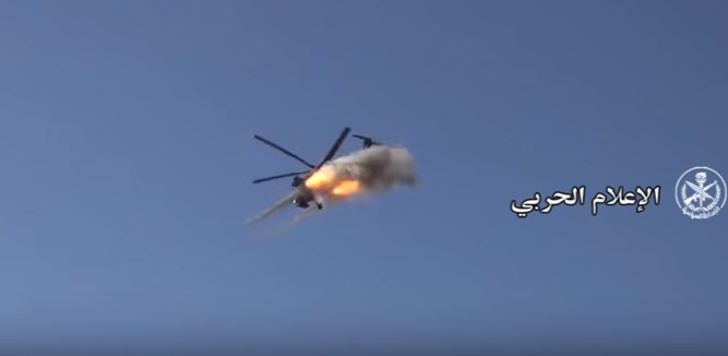 Video: Syrian Troops, Backed Up By Attack Helicopters, Advancing Against ISIS In Southeastern Syria