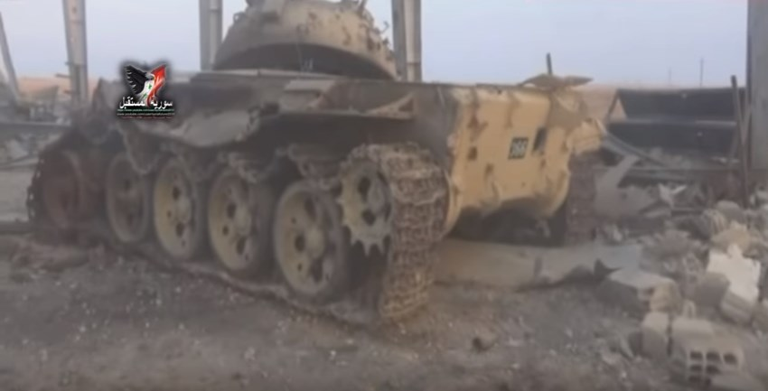 Video: Government Forces Seized Large ISIS Tank Workshop Near Resafa In Raqqah Province