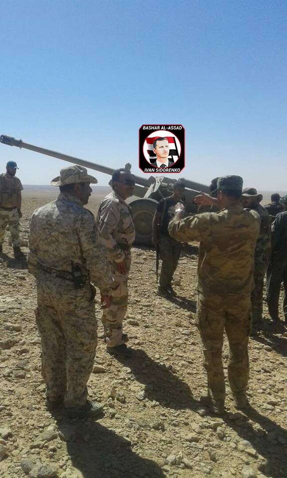 New Pro-Government Group Dubbed 'Euphrates Hawks' Joins Anti-ISIS Operation In Sukhna Area
