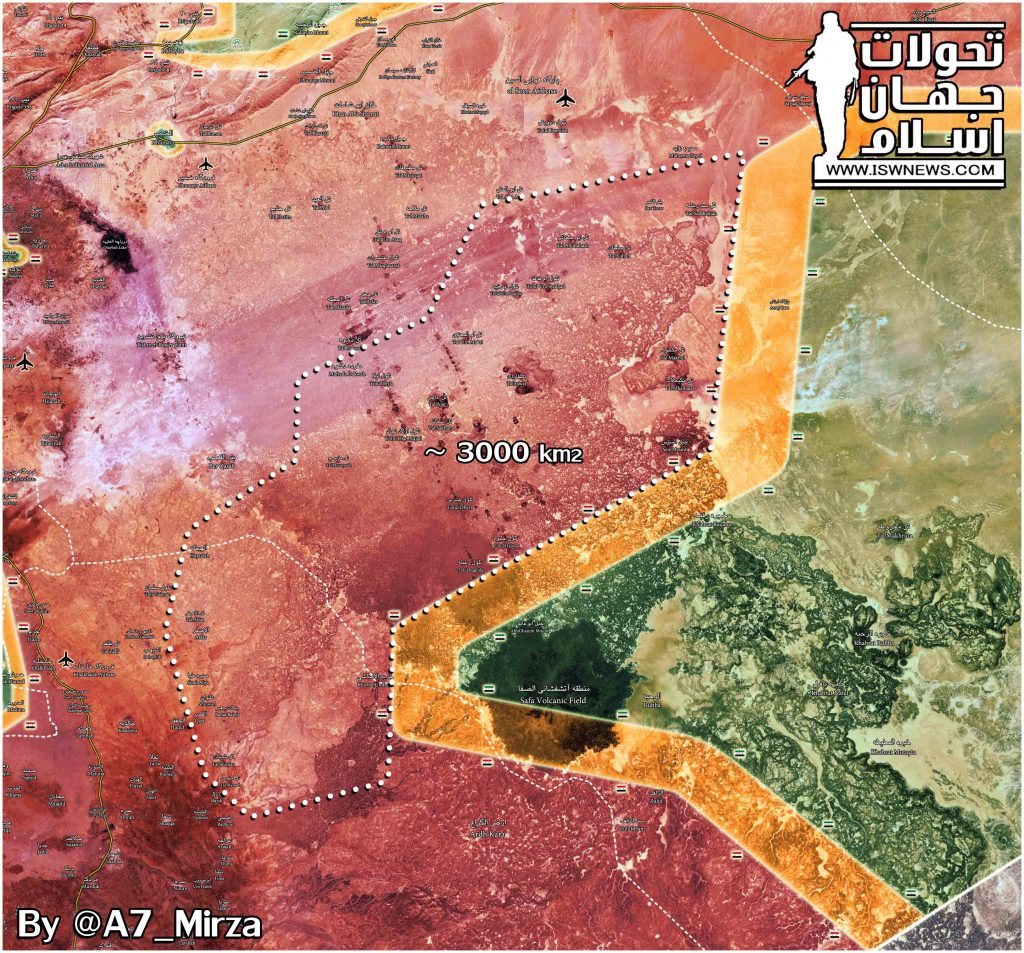Military Situation In Eastern Damascus Desert Following Recent Gains By Syrian Army