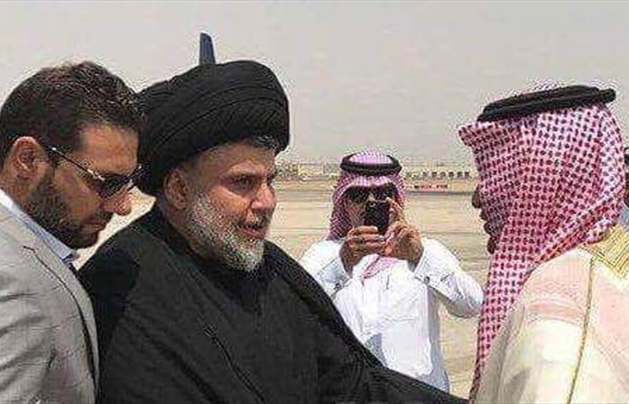 Iraqi Shiite Leader Moqtada al-Sadr Arrives to Saudi Arabia