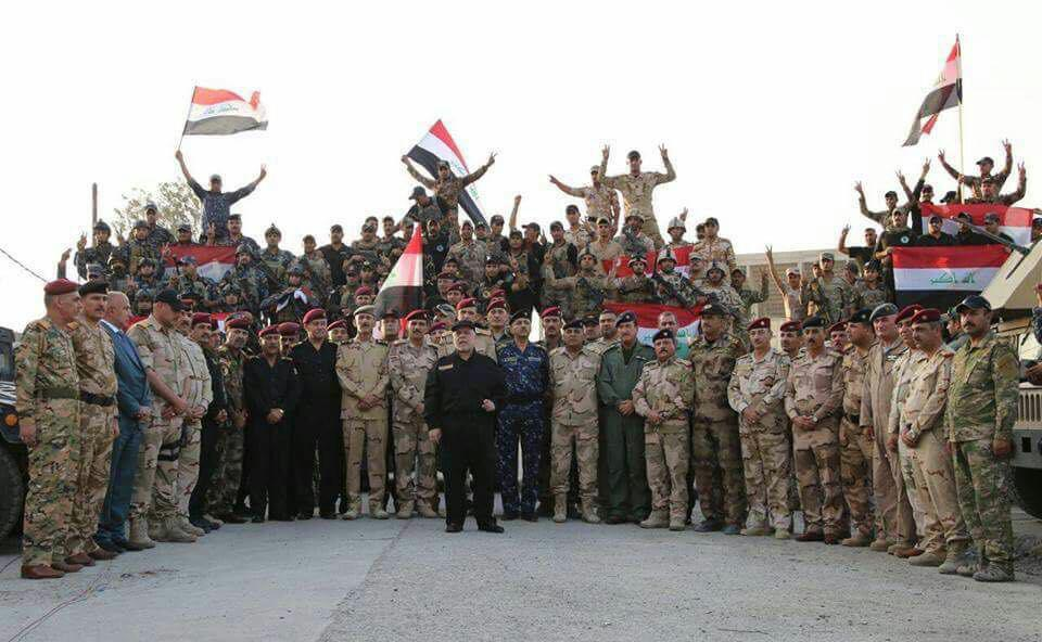 Iraqi PM Officially Announced Liberation Of Mosul