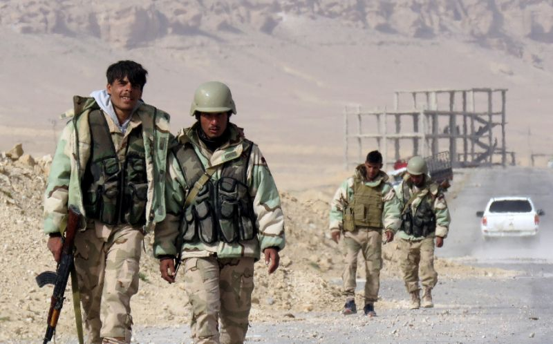 Syrian Army Fully Libreates al-Hayl Gas Field Area In Palmyra Countryside