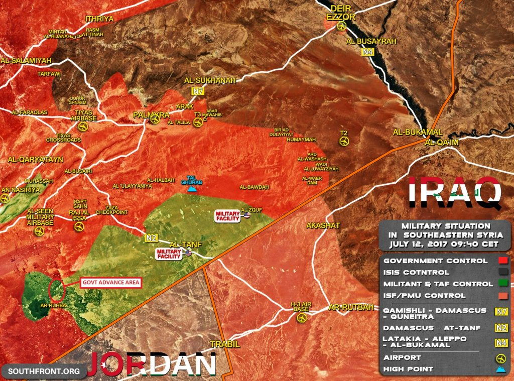 Syrian Army Closing Militant Pocket In Eastern Damascus Desert Area
