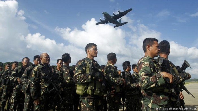 Two Philippine Army Soldiers Killed, Eleven Injured By Friendly Fire