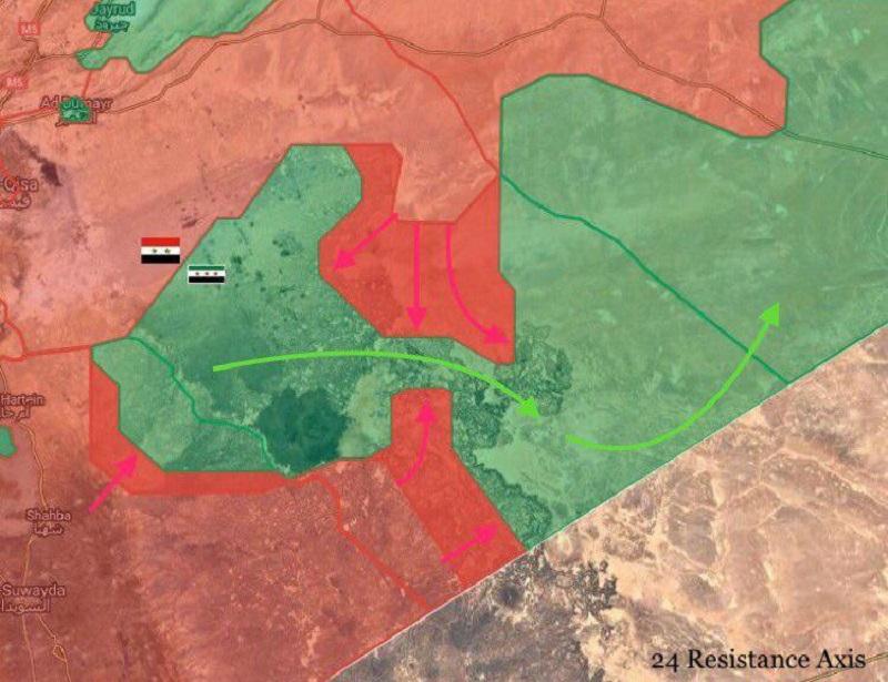 Government Forces Break US-backed Militants Defense In Damascus Desert