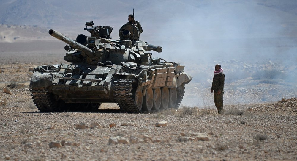 Syrian Army Gains More Area In Damascus Desert